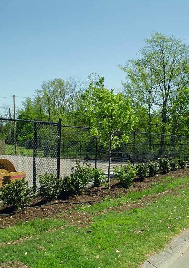 Chain-Link Fence, Commercial