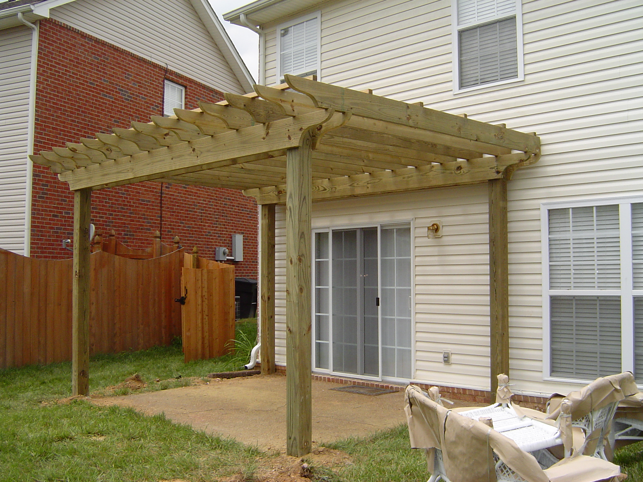 Arbor Over Patio