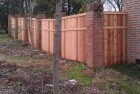 Wood Fence Cap and Trim, Trim
