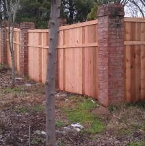 Wood Fence Cap and Trim, Trim
