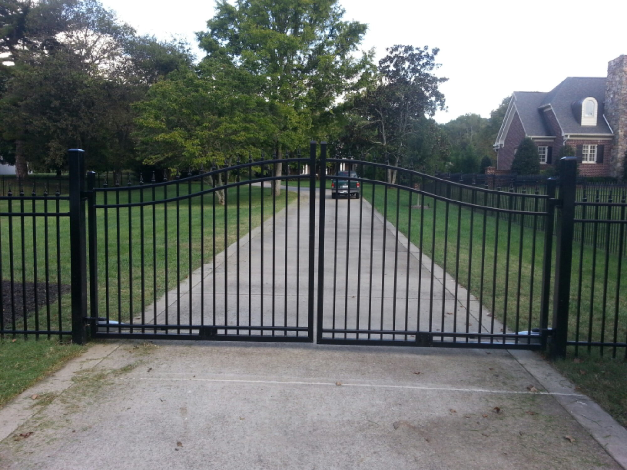 Aluminum Estate Gates Franklin Fence Amp Deck